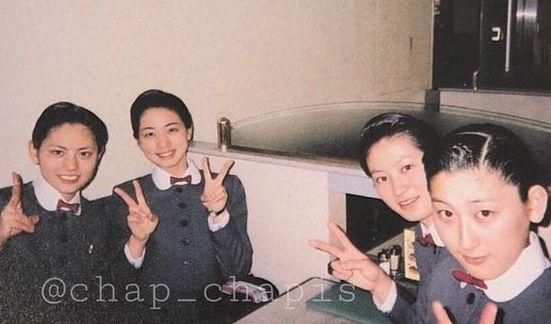 朝美絢宝塚音楽学校時代